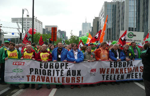 Movilización sindical en toda Europa para el 3 de abril